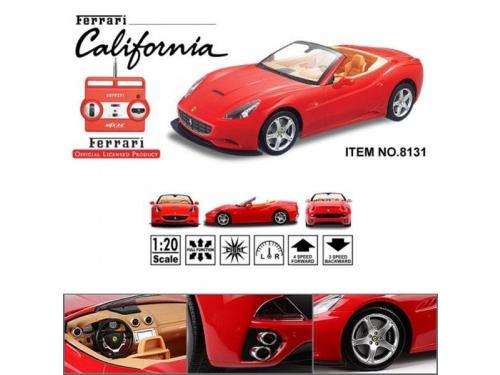 Радиоуправляемая модель MJX Ferrari California, красная, вид 2