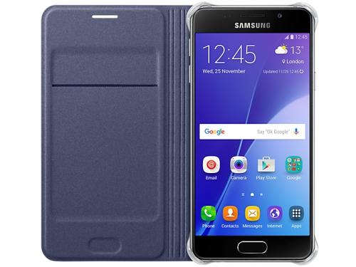 Чехол для смартфона Samsung для Samsung Galaxy A3 (2016) Flip Wallet черный, вид 4