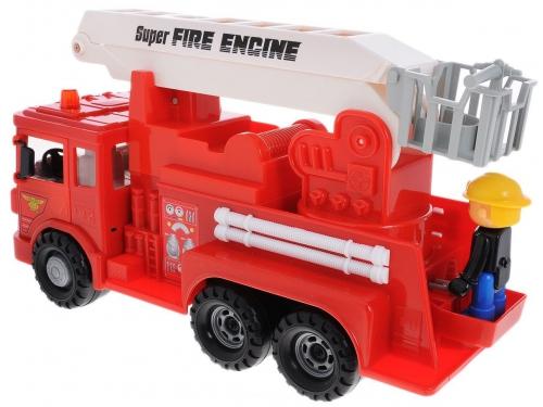 Товар для детей Daesung машина пожарная MAX, с фигуркой, вид 1