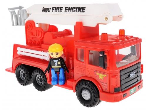 Товар для детей Daesung машина пожарная MAX, с фигуркой, вид 2