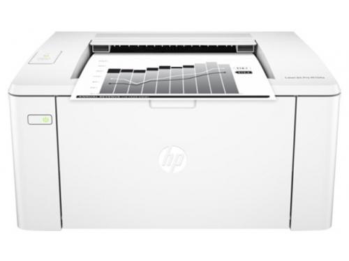 Принтер лазерный ч/б HP LaserJet Pro M104a (G3Q36A), белый, вид 1