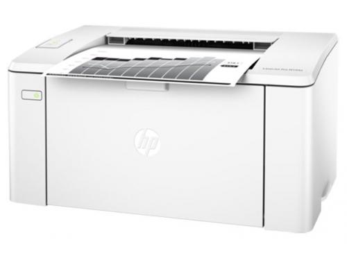 Принтер лазерный ч/б HP LaserJet Pro M104a (G3Q36A), белый, вид 2
