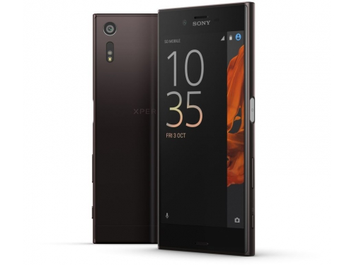 Смартфон Sony Xperia XZ, черный минерал, вид 2