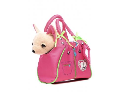 Игрушка мягкая Simba Чихуахуа Zipper, с сумкой, 20 см, вид 2