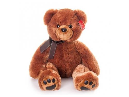 Игрушка мягкая Aurora  Медведь 70 см, тёмно - коричневый, вид 1