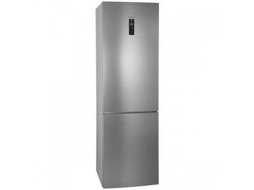 Холодильник Haier C2F637CFMV (с морозильником), серебристый, вид 1