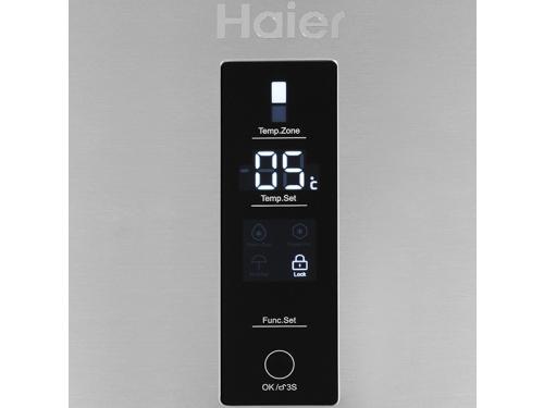 Холодильник Haier C2F637CFMV (с морозильником), серебристый, вид 2