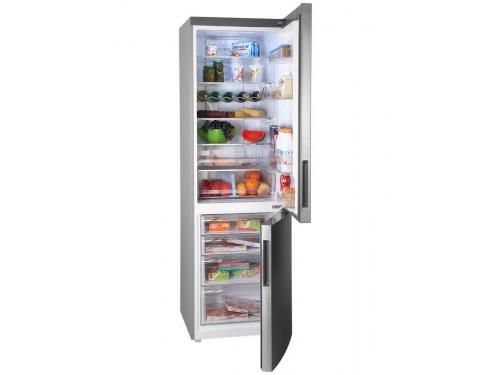 Холодильник Haier C2F637CFMV (с морозильником), серебристый, вид 4