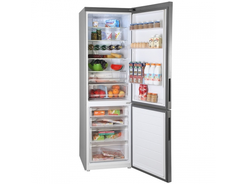 Холодильник Haier C2F637CFMV (с морозильником), серебристый, вид 5