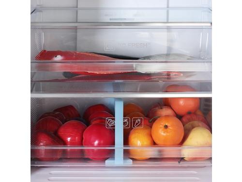 Холодильник Haier C2F637CFMV (с морозильником), серебристый, вид 6