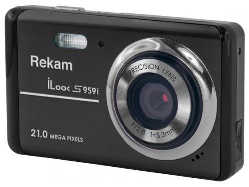 Цифровой фотоаппарат Rekam iLook S959i, черный, вид 1