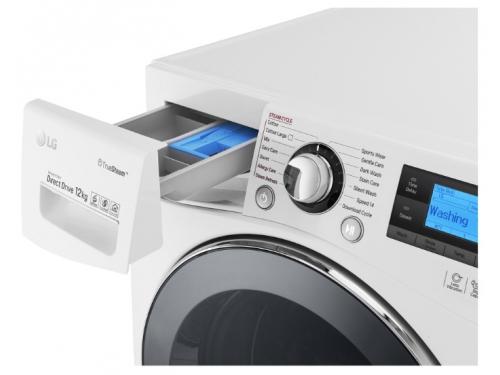 Стиральная машина LG FH495BDS2, белый, вид 5