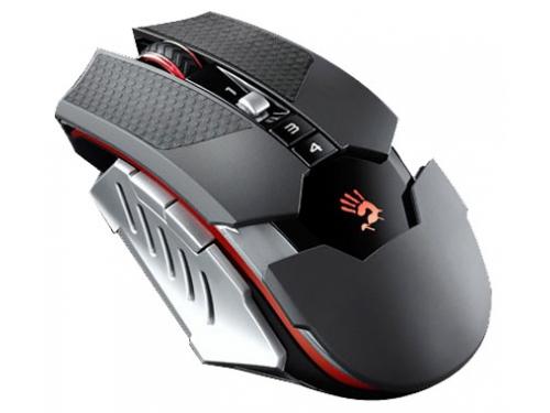 Мышка A4 Bloody RT5 Warrior черный/серый Беспроводная (4000dpi) USB, вид 1