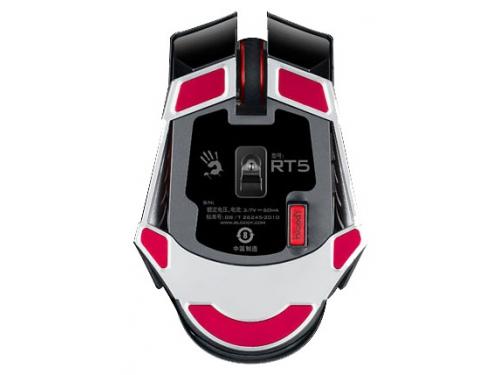 Мышка A4 Bloody RT5 Warrior черный/серый Беспроводная (4000dpi) USB, вид 3
