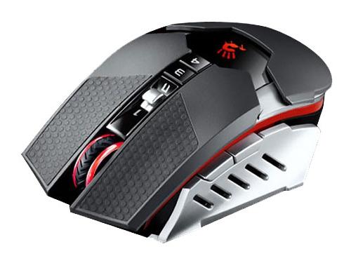 Мышка A4 Bloody RT5 Warrior черный/серый Беспроводная (4000dpi) USB, вид 2