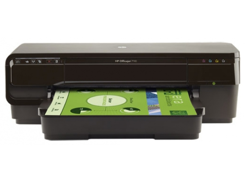 Струйный цветной принтер HP Officejet 7110, вид 1