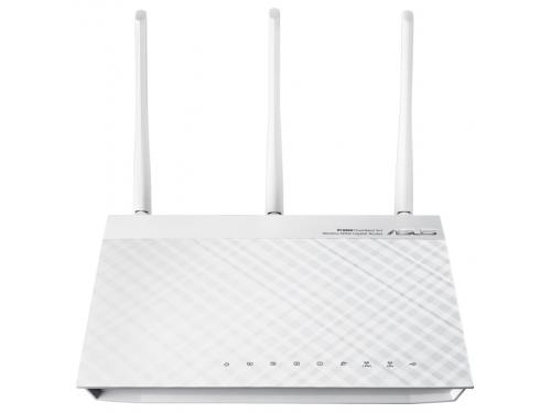 Роутер WiFi ASUS RT-N66W, белый, вид 1
