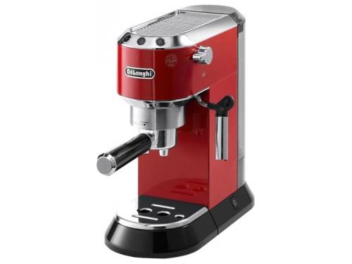 Кофемашина Delonghi EC 680 R, красная, рожкового типа, вид 1