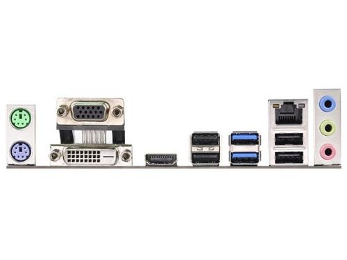 ����������� ����� ASRock H97M Anniversary (mATX, LGA-1150, 4xDIMM DDR3, USB3, PCI-e 3.0, Gbit-LAN, VGA, DVI, HDMI, PS/2), ��� 3