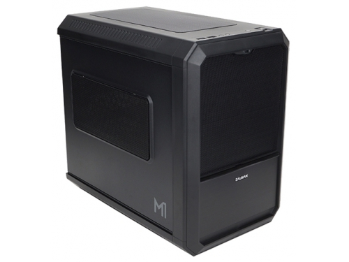 Корпус Zalman M1 Mini-ITX, Black, без БП, вид 1