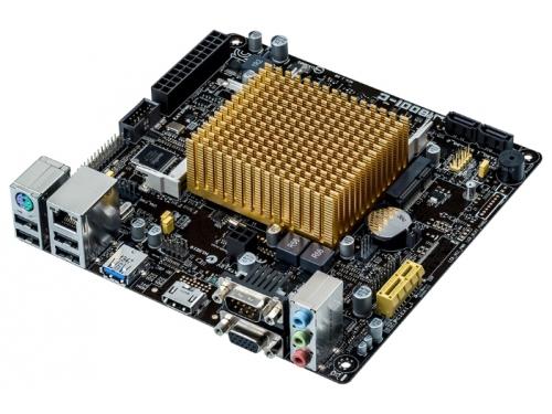 Материнская плата ASUS J1800I-C, with Intel® Dual-core Celeron® J1800 (2.41 GHz), mATX, 2xSODIMM DDR3 1xPCI-E VGA HDMI, вид 2