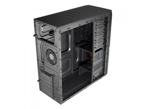 Корпус Aerocool V3X Advance Evil Black Edition, ATX, 600Вт, Midi-Tower, USB3.0, красная подсветка, вид 6