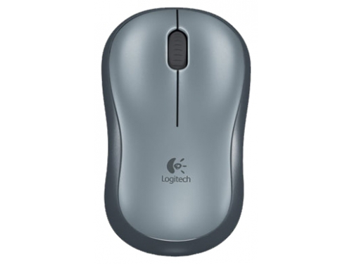Мышка Logitech Wireless Mouse M185 Grey-Black USB, вид 2