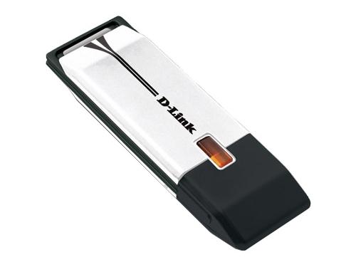 Адаптер Wi-Fi D-Link DWA-160 (USB 802.11a/b/g/n, 300 Мбит/с включая диапозон 5ГГц), вид 1