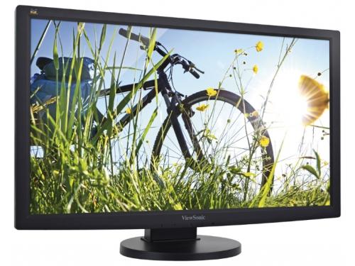 Монитор Viewsonic VG2433-LED, чёрный, 23.6'', 1920x1080, TFT TN, DVI-D, VGA, вид 1