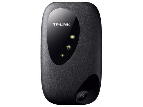 Роутер WiFi TP-LINK M5250, чёрный (Wi-Fi 2.4ГГц, 3G, до 7 часов, microSDHC), вид 1