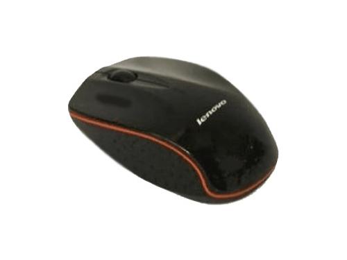 Мышка Lenovo Wireless Mouse N30A Black, вид 1