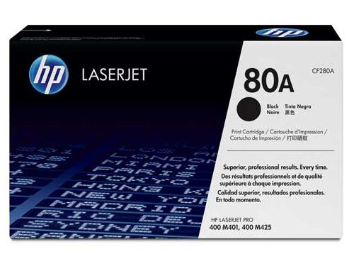 Картридж HP 80A Черный (2700 страниц), вид 1