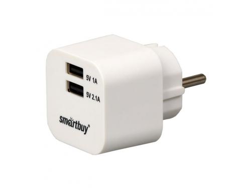 Зарядное устройство SmartBuy VOLT SBP-2100, белое, вид 1