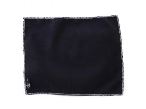 Чистящая принадлежность для ноутбука Konoos для планшетов, чёрная, лого, вид 1