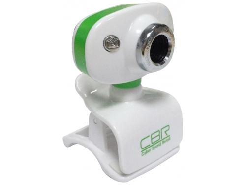 Web-камера CBR CW 833M, зелёная, вид 1