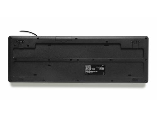 Клавиатура CBR KB 111M, 102+9 кнопок, USB, чёрная, вид 2