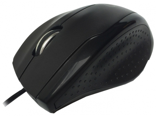 Мышка CBR CM-307 (USB), чёрная, вид 3