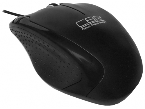 Мышка CBR CM-307 (USB), чёрная, вид 2