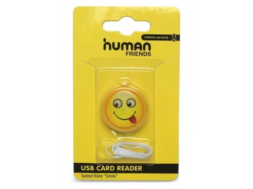 ���������� ��� ������ ���� ������ CBR / Human Friends Speed Rate 'Smile', �����, USB, microSD, ��� 2