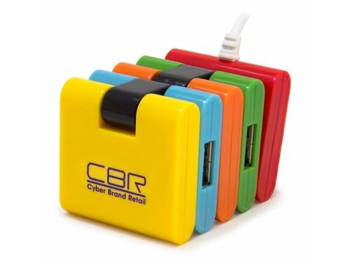 USB ������������ CBR CH-155, 4 �����, USB 2.0, ��� 1