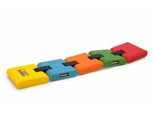USB ������������ CBR CH-155, 4 �����, USB 2.0, ��� 3