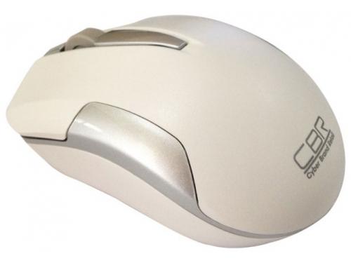 Мышка CBR CM-422 White, оптика, радио 2,4 Ггц, 1600 dpi, USB, CM 422 White, вид 1