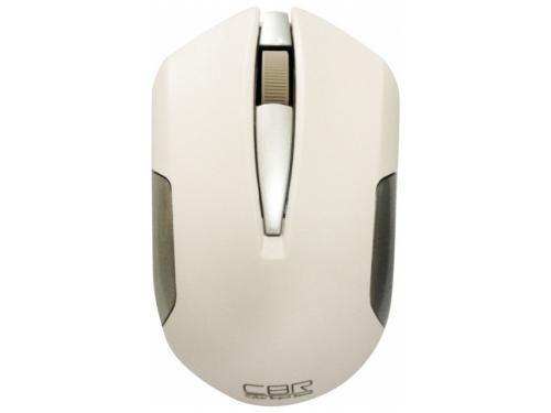 Мышка CBR CM-422 White, оптика, радио 2,4 Ггц, 1600 dpi, USB, CM 422 White, вид 3