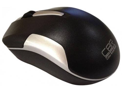 Мышка CBR CM-422 Black, оптика, радио 2,4 Ггц, 1600 dpi, USB, CM 422 Black, вид 1