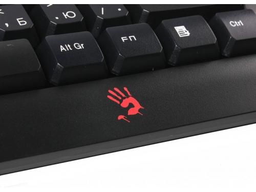 Клавиатура A4-Tech Bloody Q100 USB, чёрная, вид 5