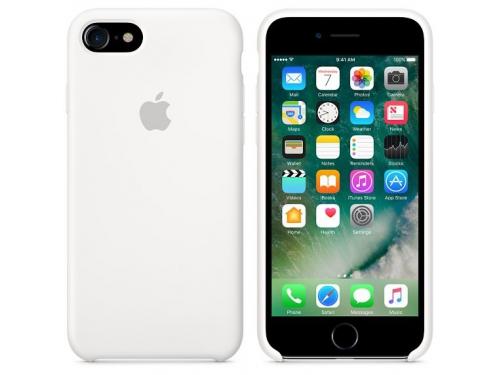 Чехол iphone Apple MMWF2ZM/A (для Apple iPhone 7), белый, вид 2