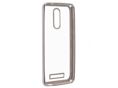 Чехол для смартфона SkinBox 4People для Xiaomi Redmi Note 3, серебристый, вид 1