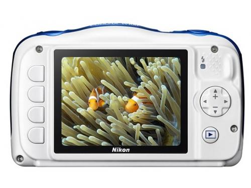 Цифровой фотоаппарат Nikon Coolpix W100, морской рисунок, вид 2