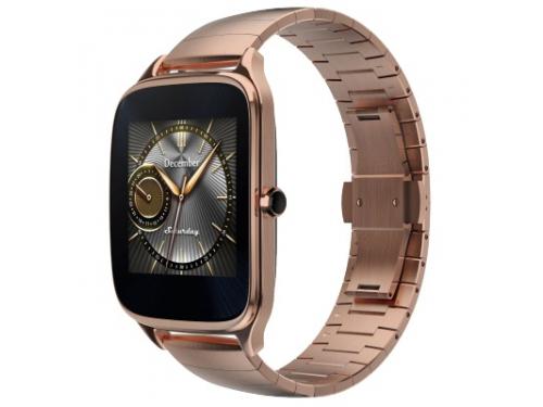 Умные часы Asus ZenWatch 2 WI501Q, золотистые, вид 1