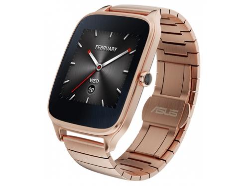 Умные часы Asus ZenWatch 2 WI501Q, золотистые, вид 2